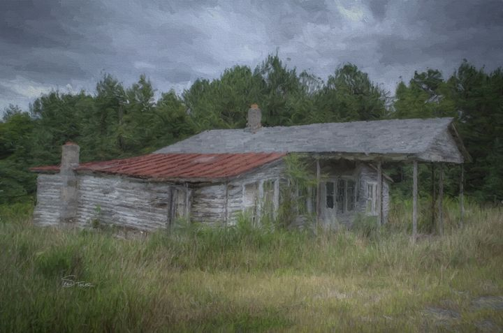 Home Sweet Home of Old - Version 2 - Sean Toler Photo