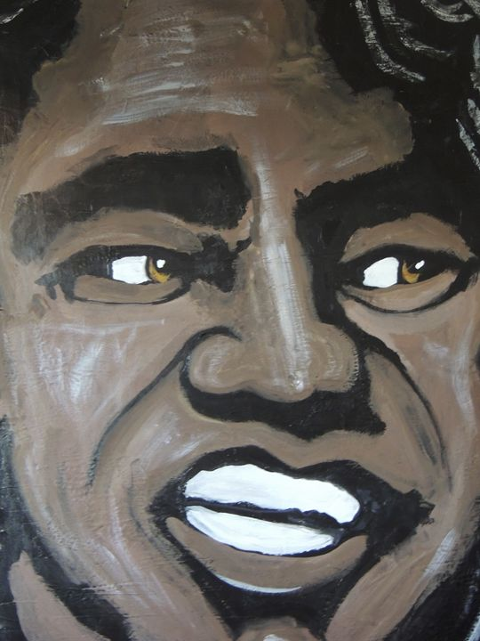James Brown - Eyes on the wall