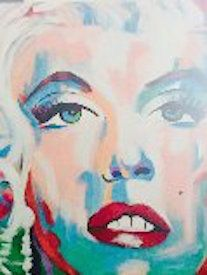 Marilyn - Eyes on the wall