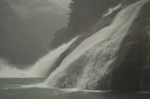Tracy Arm Waterfall