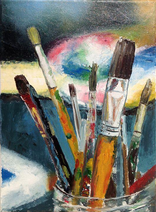 Paintbrushes - Brandonorbanoskyart.com