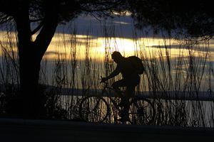 la montée à vélo