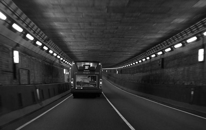 Touring a tunnel - Adi Starr