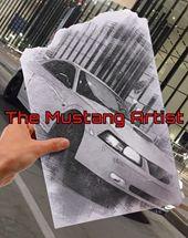 The Mustang Artist