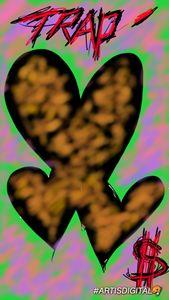 """Trapp heart's """"Leopard heart"""" 🐆💓"""