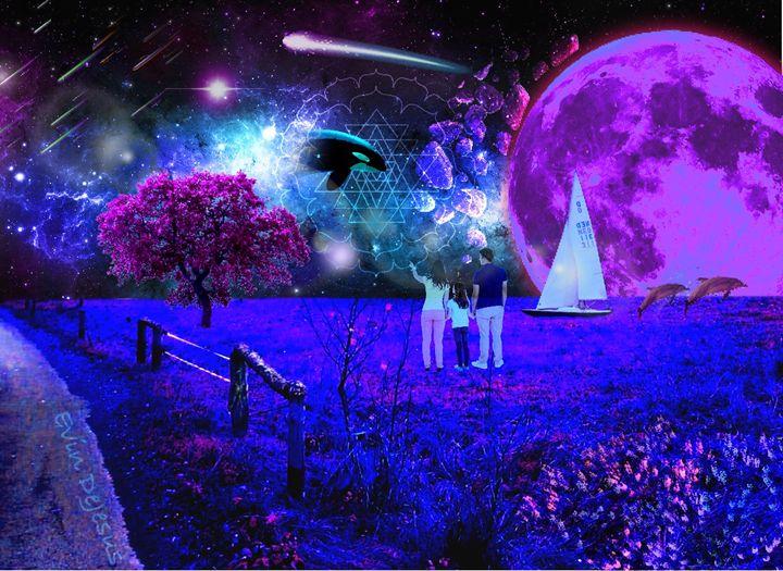 Landscape Of Imagination - Evin DeJesus Art Gallery