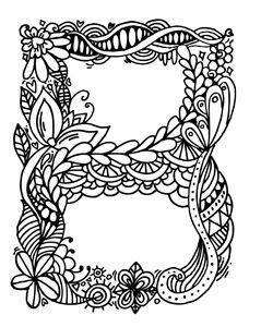 """Alphabet"""" B""""doodle art"""