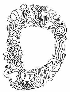 """Alphabet"""" D"""" doodle art"""