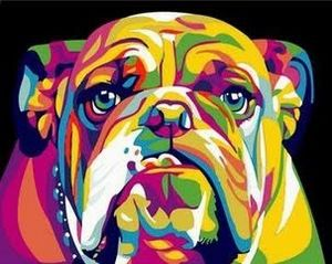 Bulldog Kaleidescope - Out of the Box Art