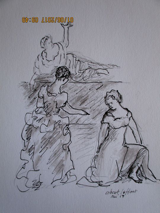 three  women in XVIII th century - robert laffont