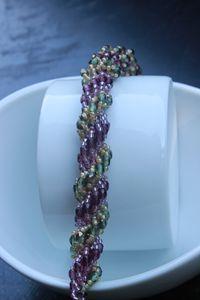 Double Spiral Rope Bracelet