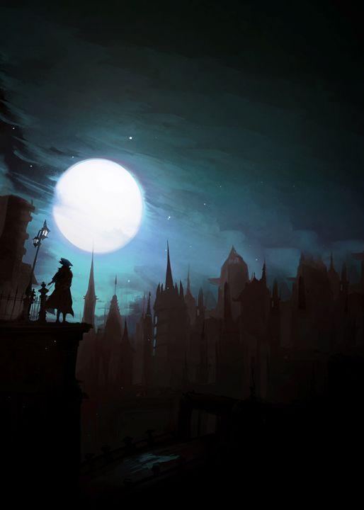 "Bloodborne ""The Night of the Hunt"" - SucculentBurger"