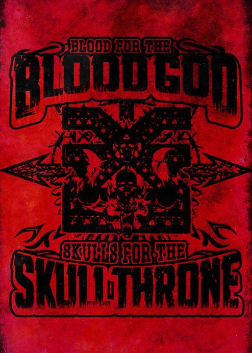 Khorne, the Blood God - SucculentBurger