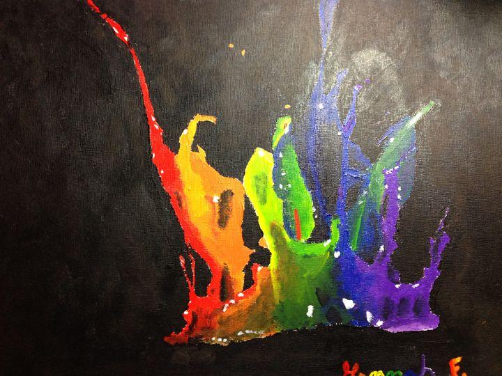 Paint-ception - Hannah Feinsilber's Art