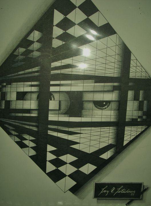 Eyes on you - OyArt By Troy Tetschner