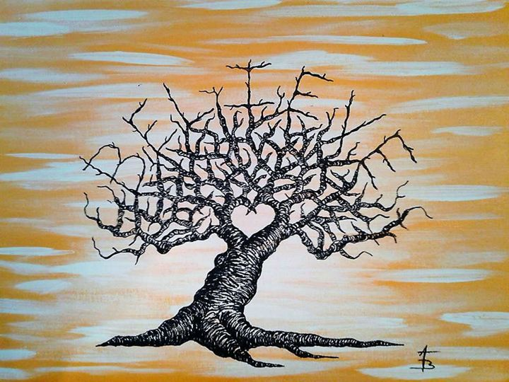 Believe Love Tree - Love Tree Art Collection