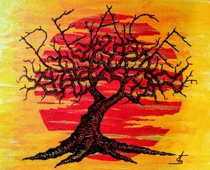 Peace Love Tree