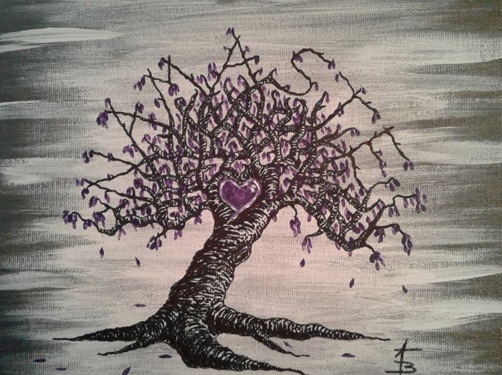 Namaste Love Tree - Love Tree Art Collection