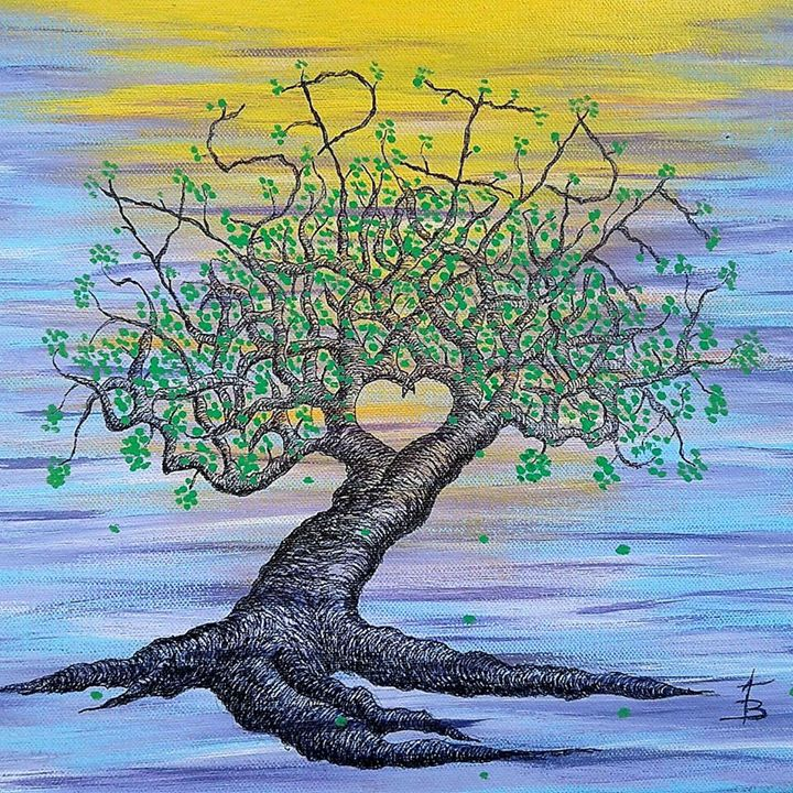 Aspire Love Tree - Love Tree Art Collection