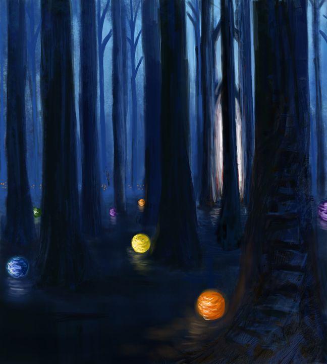 Forest Lights - Wild Fantasy