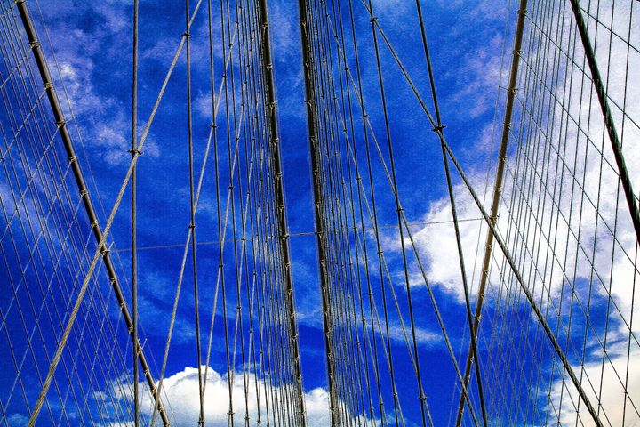 Cables of Brooklyn Bridge - debchePhotography