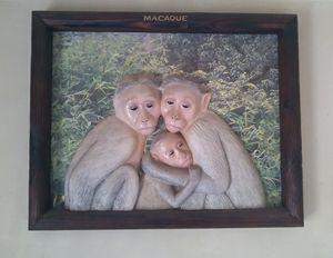 wildlife wooden frame -  Artvisionrare