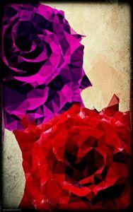 Polygon Violet Rose