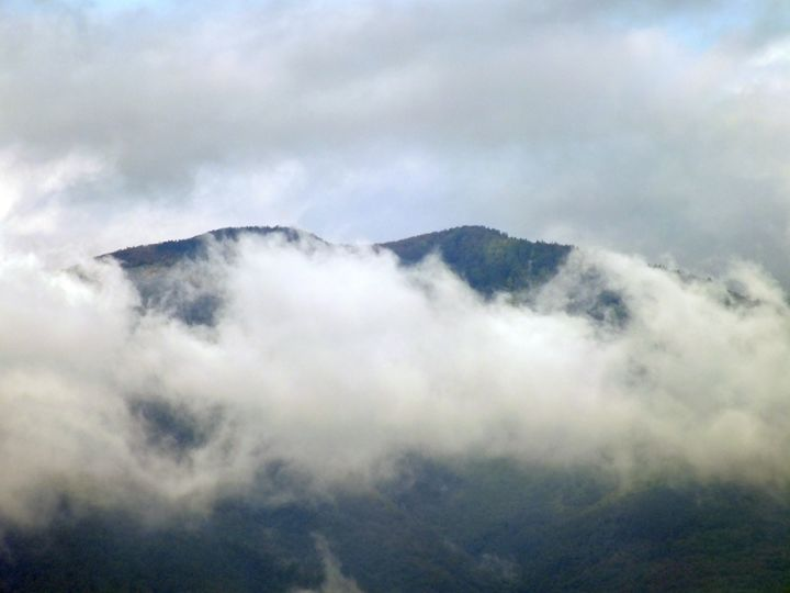 Mountain and Cloud - Vanessa Schlachtaub Bruni