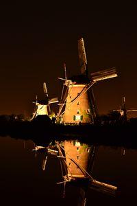 Windmills and water Kinderdijk