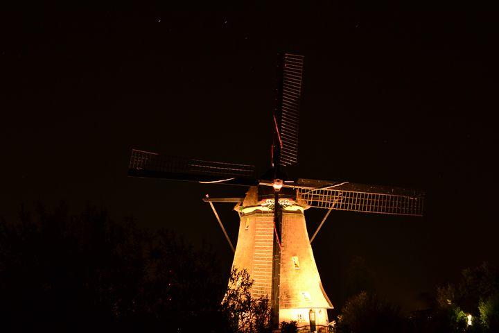 Windmill Kinderdijk - Natarch