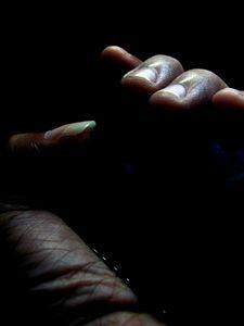 A hollow hand