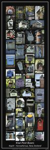Kiwi Post Boxes - A Collection