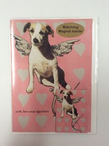 When Dogs Fly with matching magnet