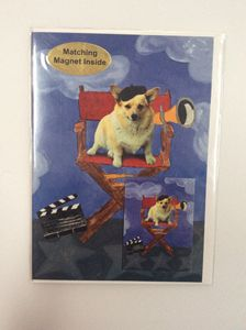 Doggie Director with matching magnet