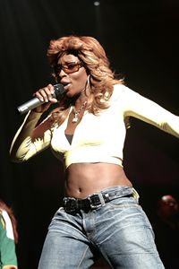 Singer Mary J. Blige Color Photo - Front Row Photographs