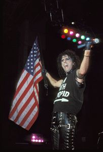 Alice Cooper Color Concert Photo - Front Row Photographs
