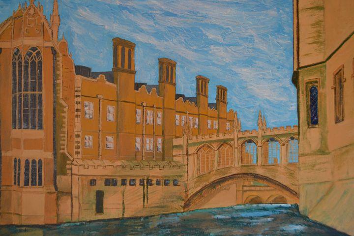 Bridge of Sighs, Cambridge, UK - R Smith
