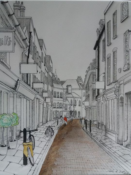 Green Street, Cambridge, UK - R Smith