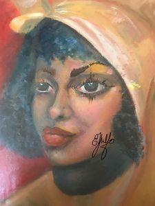 Lady in Turban