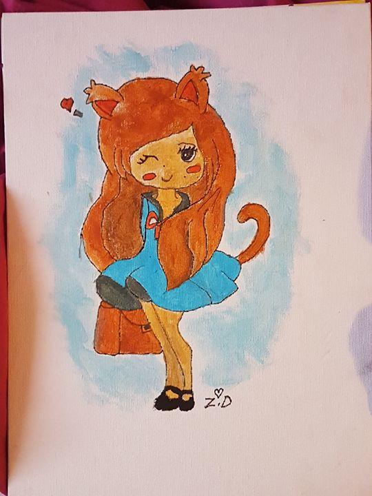 kitty galore - Zarabea's World of Art