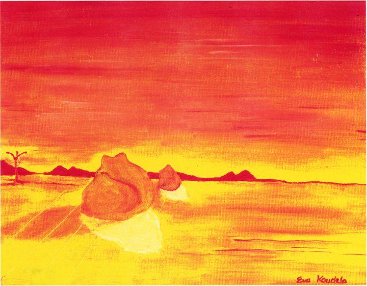 Two Rocks - Eva Koudela's Art