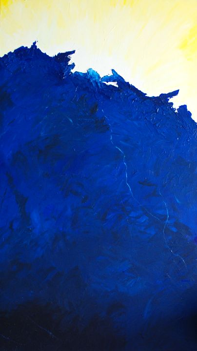 Crashing into the Horizon - Brett Paints