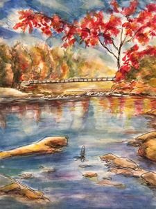A Lake in the Fall