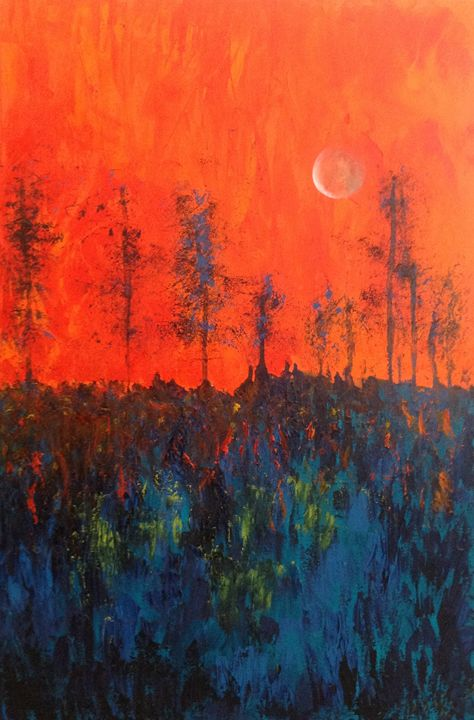 Moonlight - B Kielkowski Paintings
