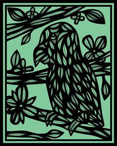 Balm Parrot Brown Green Black