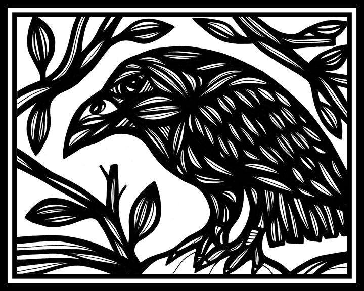 Dutkiewicz Magpie Black and White - 631 Art