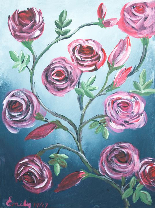 Roses In The Mist - EmilyCreations