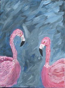 For the love of Flamingo's