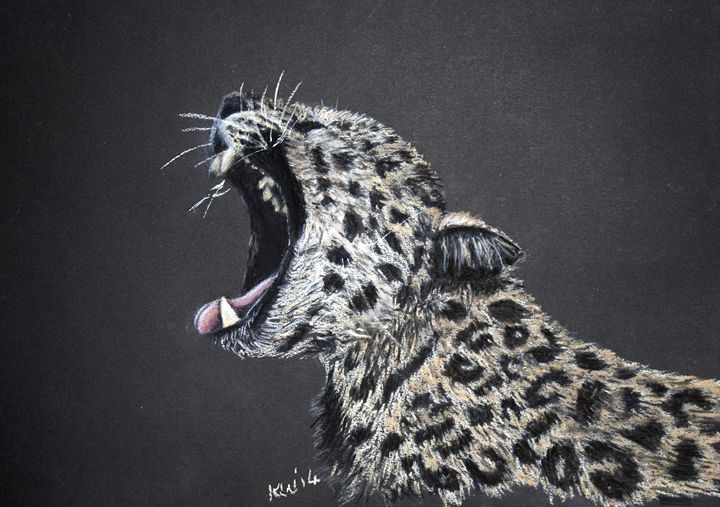 Leopard - Kate Wilkey Art