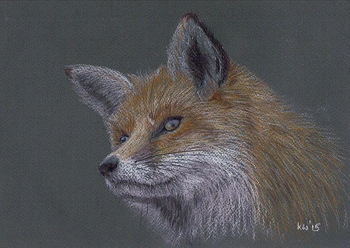 Fox - Kate Wilkey Art